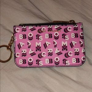 Pink Marc Jacobs Key Pouch